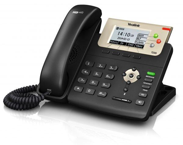 Yealink - Enterprise HD IP Phone SIP-T23G