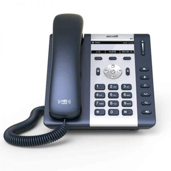 ATCOM A10W 1 SIP WIFI Phone Entry-level business wireless IP Phone