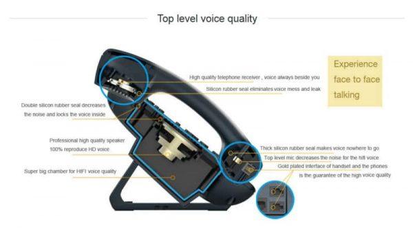 ATCOM A10W 1 SIP WIFI Phone Entry-level business wireless IP Phone5