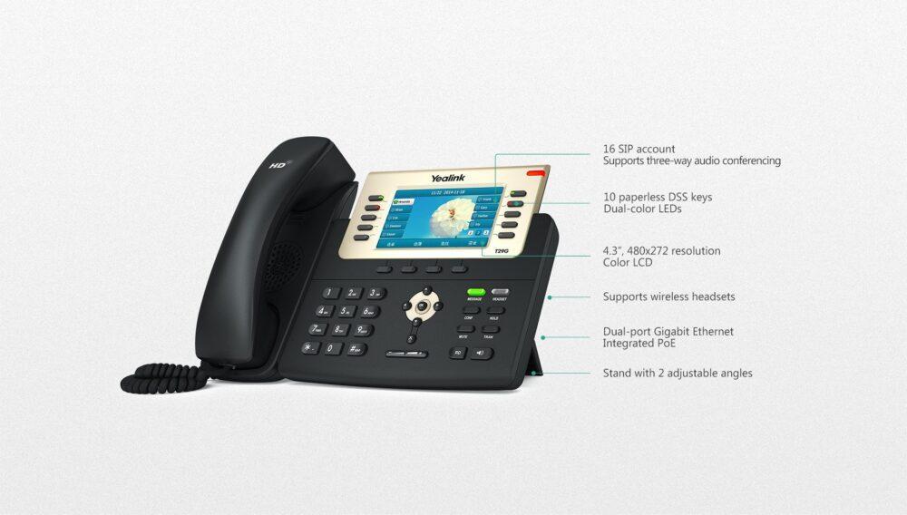 Yealink SIP-T29G Gigabit VoIP IP Phone